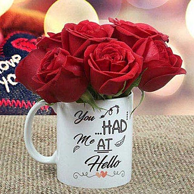 Rose Mug:Gifts to UAE