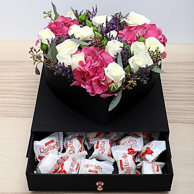Roses N Chocolates Combo