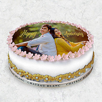 Round Photo Cake 10 Pax:Photo Cake Delivery in UAE