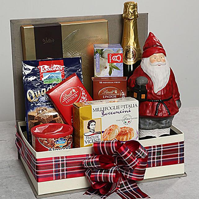Santa Idol and Chocolate Hamper:Send Gifts for Boss to UAE