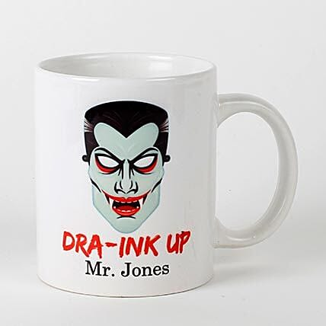 Scary Dracula Mug