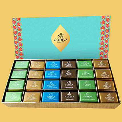 Scrumptious Godiva Pralines 48 Pcs:Best Chocolates in Dubai, UAE
