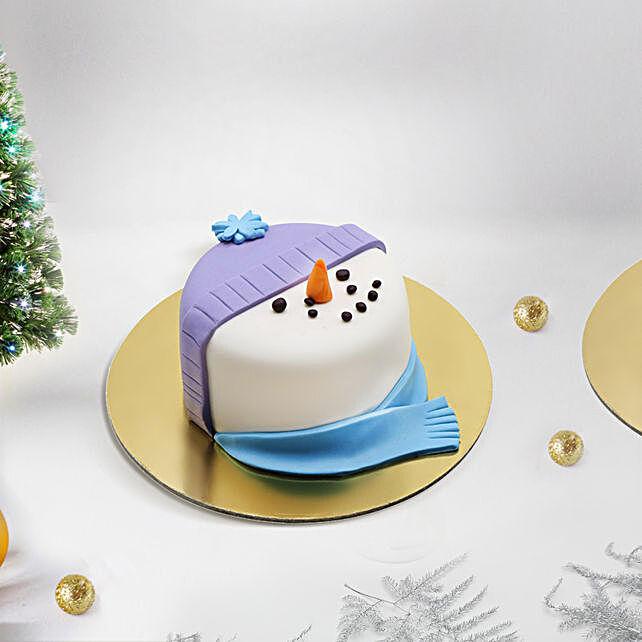 Snow Man Mono Cake