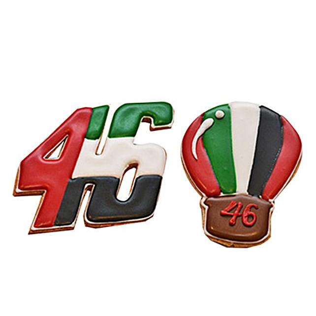 UAE Day Cookies Set of 3