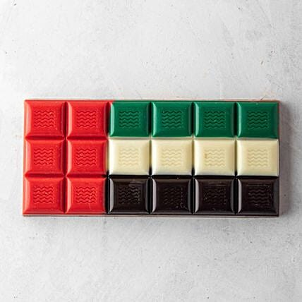 UAE Flag Choco Bar