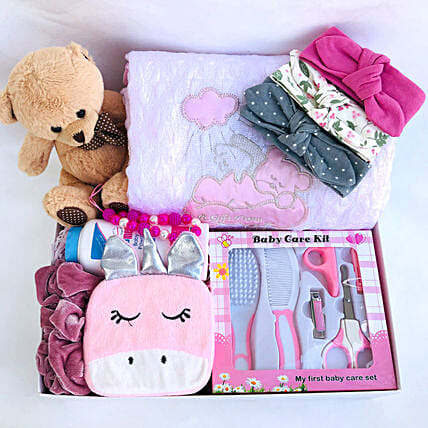 Unicorn Love Baby Gift Hamper