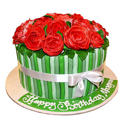 Bunch of roses Cake