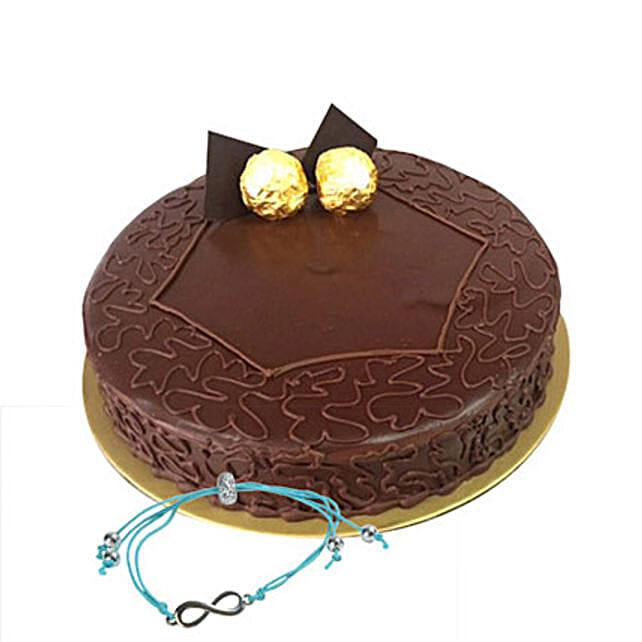 Ferrero Rocher Cake with Friendship Band