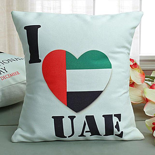 I Love UAE Cushion