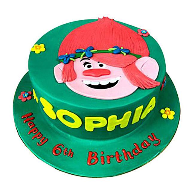 Trolls Amazing Cake