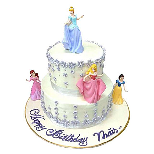 Lovely Princess Cake:Designer Cake Delivery in UAE