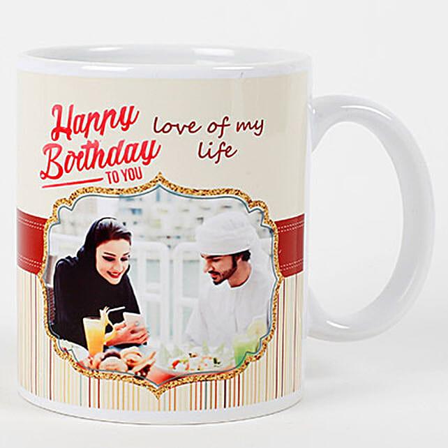 Romantic Birthday Personalized Mug