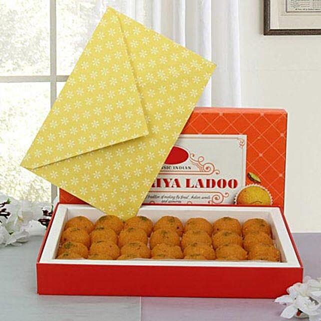 Box of Motichoor Laddoo:Sweet Delivery in UAE