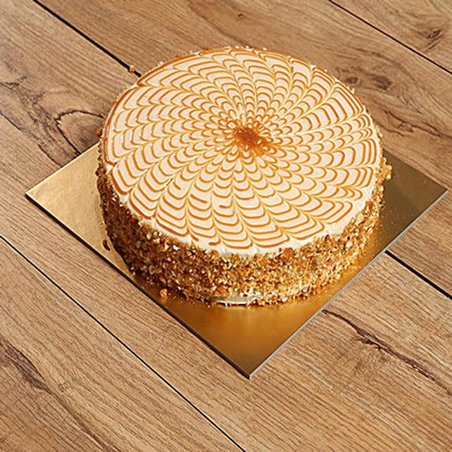 500gm Yummy Butturscotch Cake:Business Gifts Dubai