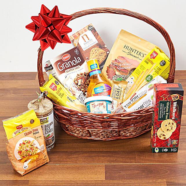 Healthy Gluten Free Basket