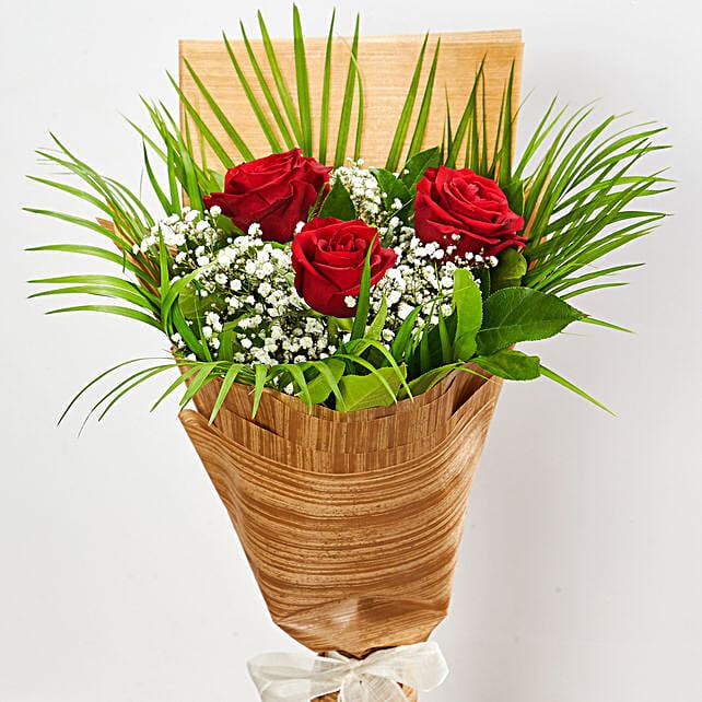 Magnificent Red Rose Bouquet:Dubai Flower Delivery