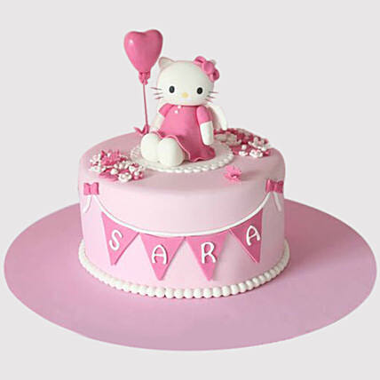 Magnificent Hello Kitty Birthday Party Chocolate Cake In Uae Gift Hello Kitty Personalised Birthday Cards Paralily Jamesorg