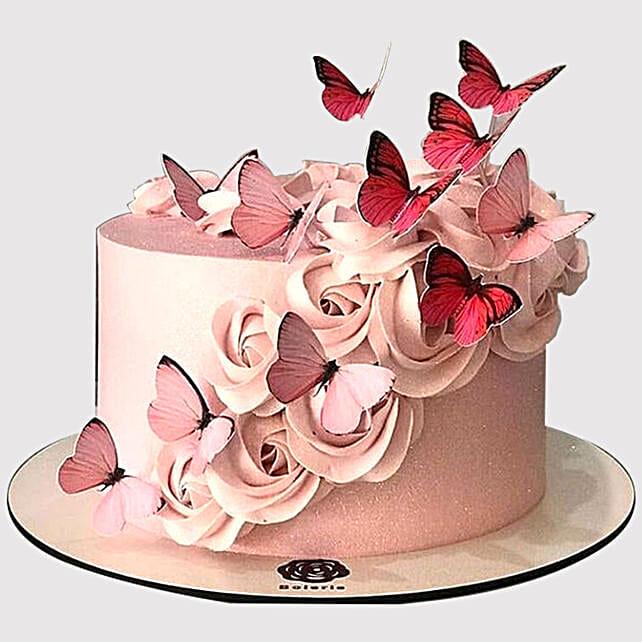 Cool Glamorous Butterfly Chocolate Cake In Uae Gift Glamorous Funny Birthday Cards Online Necthendildamsfinfo