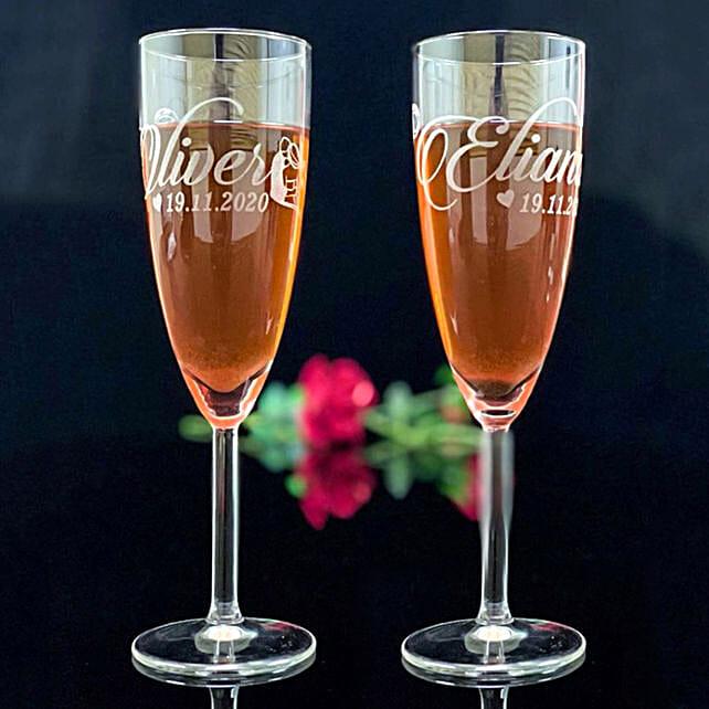 Personalised Engraved Juice Glass
