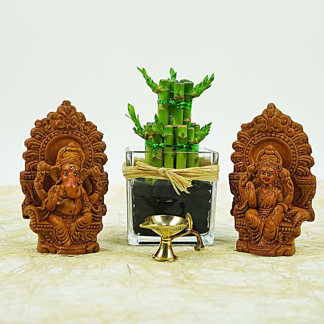 Spiritual Diwali Hamperand Lucky Plant