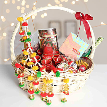 Decorative Happy Diwali Gifts Hamper
