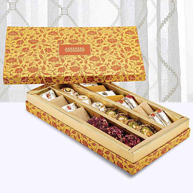 Kaju Premium Assorted Sweets Box:Diwali Sweets to UAE