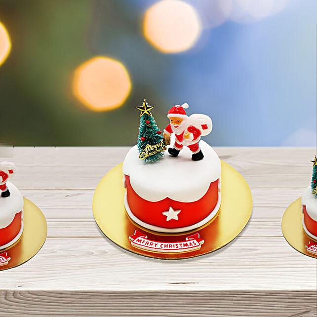 Christmas Santa Red Mono Cake