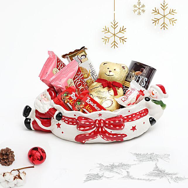 Xmas Treats From Santa and Snowman