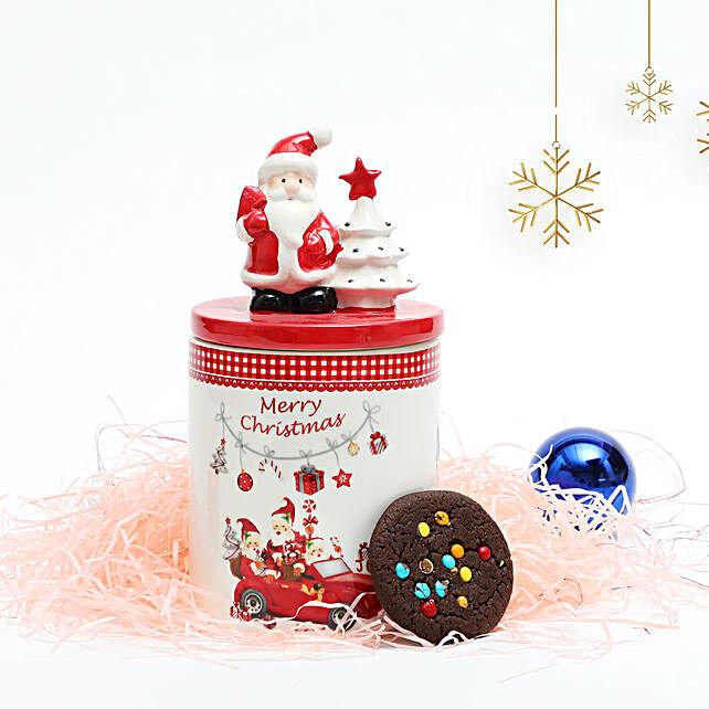 Rainbow Cookies in Christmas Jar