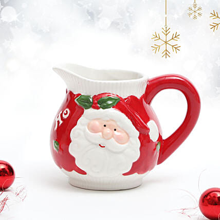Set of 2 Santa Milk Cup