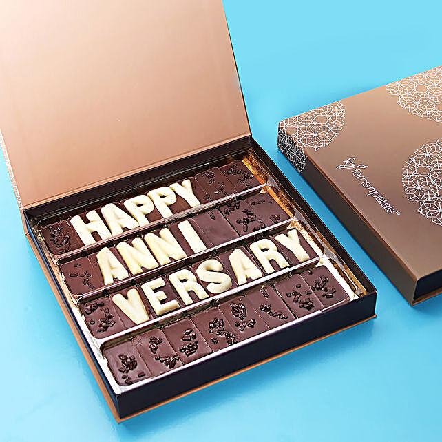Happy Anniversary Chocolate