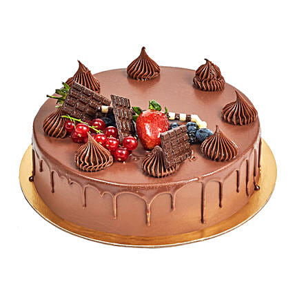4 Portion Fudge Cake:Send Cakes to UAE