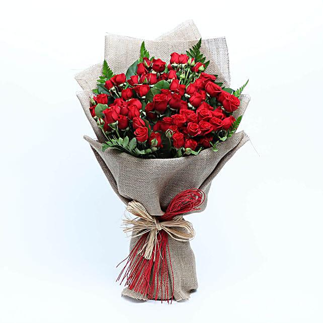 Romantic Baby Rose Bouquet