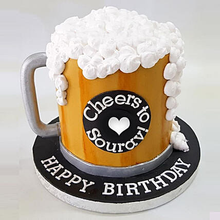 Birthday Special Cheers Cake