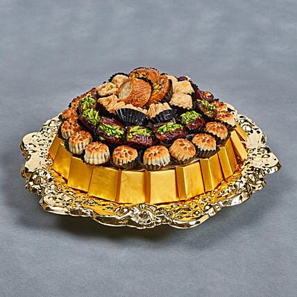 Eid Mubarak Wishes With Assorted Delights