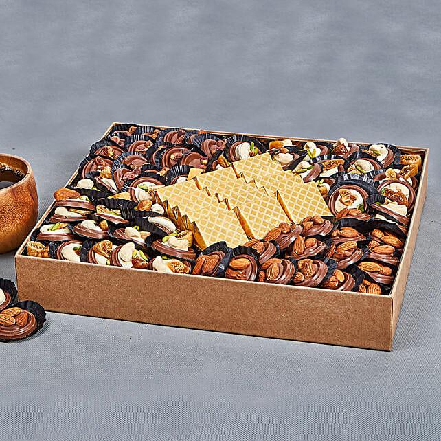 Premium Nuts Chocolates Box