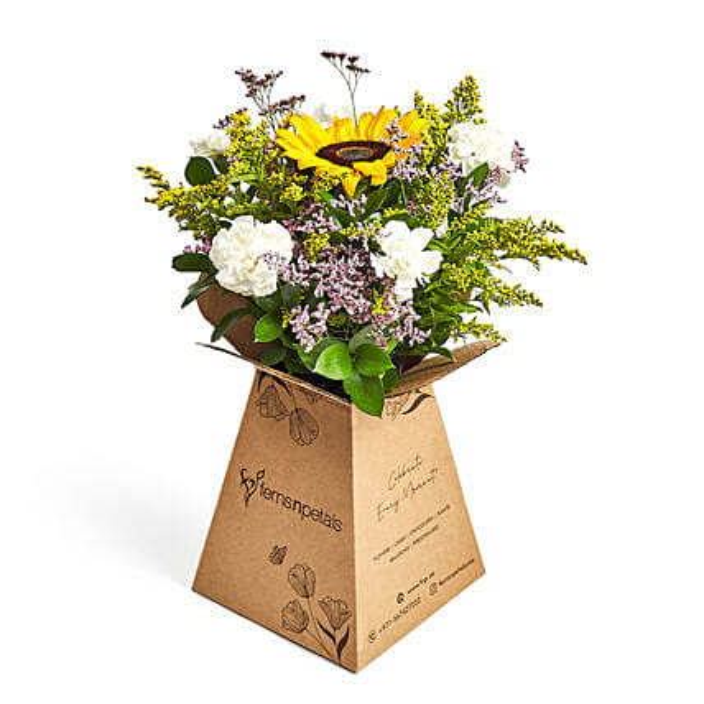 Sunshine love:Order Lilies in UAE