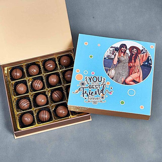 Personalised Friendship Day Chocolate Box