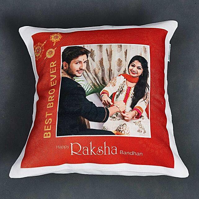 Personalised Rakhi Cushion:Kids Rakhi to UAE