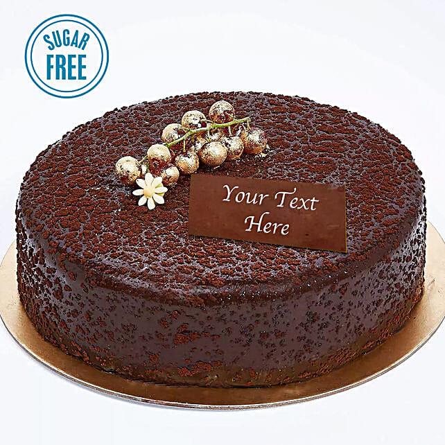 Sugar Free Dark Chocolate Cake