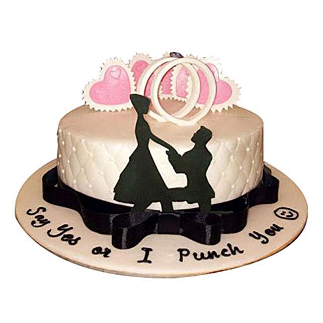 Wedding Rings Cake