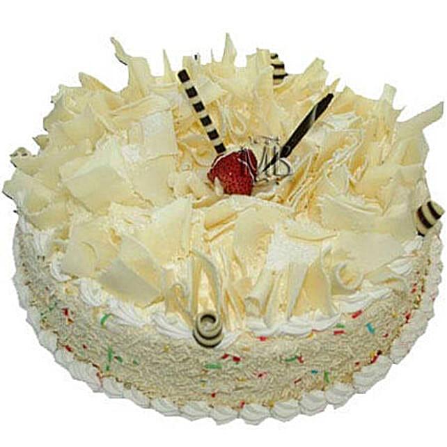 White Forest Cake