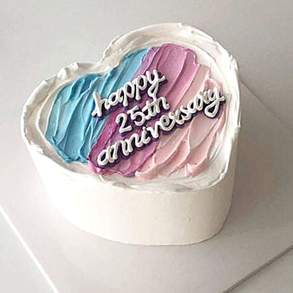 Without Us Its Just A Cake Gluten Free:Heart Shaped Cake to UAE