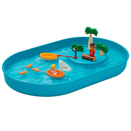 Wooden Water Play Set