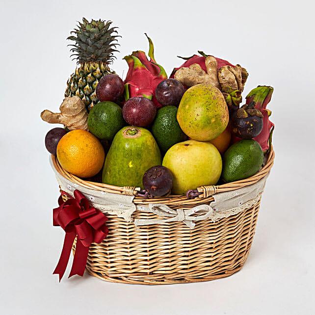 Zest for Health Basket:Fruit Basket Delivery UAE