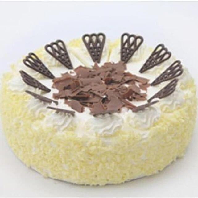 2 In 1 Choco Vanilla Cake