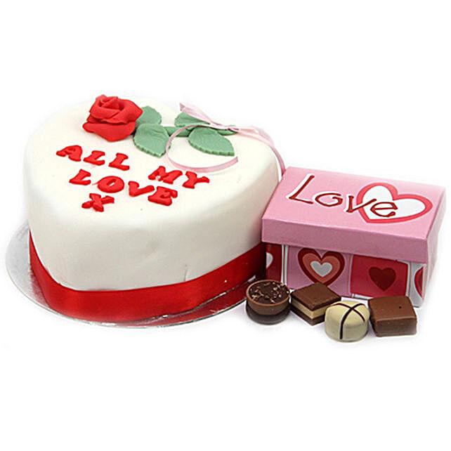 All My Love Cake And Chocolates