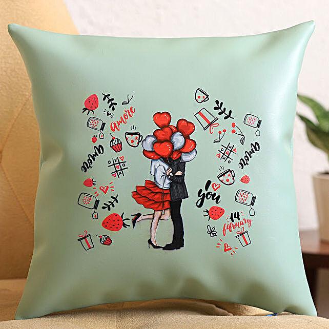 Beautiful Love N More Cushion:Birthday Cushion to UK