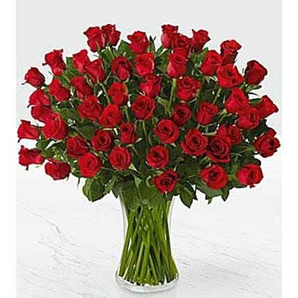 Beautiful Red Roses Bouquet:Flower Delivery UK