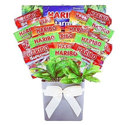 Bright Haribo Sweets Bouquet